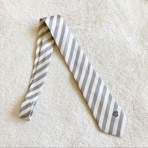 NWT Versace Men's Silk Logo Tie
